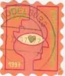 Sellos de Europa - Holanda -  ilustración