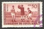 Stamps Costa Rica -  286 - III Juegos Panamericanos de fútbol