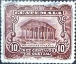 Sellos de America - Guatemala -  Intercambio 0,20 usd 10 cent. 1929