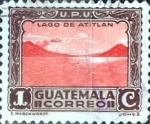Stamps : America : Guatemala :  Intercambio 0,20 usd 1 cent. 1935