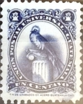 Stamps : America : Guatemala :  Intercambio 0,25 usd 1 cent. 1954