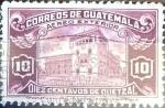 Sellos de America - Guatemala -  Intercambio 0,20 usd 10 cent. 1943