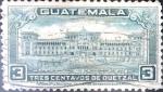 Stamps Guatemala -  Intercambio 0,20 usd 3 cent. 1944