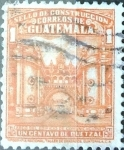 Sellos de America - Guatemala -  Intercambio 0,25 usd 1 cent. 1945