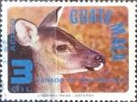 Stamps Guatemala -  Intercambio cr2f 0,25 usd 3 cent. 1979