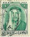 Stamps Kuwait -  Abdullah III
