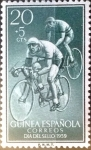 Stamps Spain -  Intercambio jxi 0,25 usd 20 + 5 cent. 1959