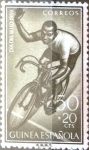 Stamps Spain -  Intercambio jxi 0,30 usd 50 + 20 cent. 1959