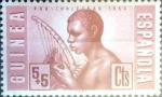 Sellos de Europa - España -  Intercambio jxi 0,25 usd 5 + 5 cent. 1953