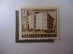 Stamps Romania -  Hospital Metropolitano-Budapest- Fovárosi Oj Közkórhaz - Posta Romana. (S/1053)