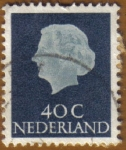 Stamps of the world : Netherlands :  Reina JULIANA
