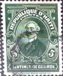 Stamps : America : Haiti :  Intercambio cxrf 0,20 usd 5 cent. 1924