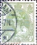 Stamps Netherlands -  Intercambio 0,20 usd 3 cent. 1901