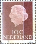 Stamps : Europe : Netherlands :  Intercambio 0,20 usd 10 cent. 1953