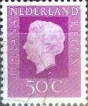 Sellos de Europa - Holanda -  Intercambio 0,20 usd 50 cent. 1972