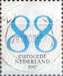 Sellos del Mundo : Europa : Holanda : Intercambio 0,40 usd 88 cent. 2007