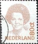 Sellos de Europa - Holanda -  Intercambio 0,20 usd 80 cent. 1991
