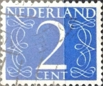 Stamps Netherlands -  Intercambio 0,20 usd 2 cent. 1946