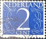 Stamps : Europe : Netherlands :  Intercambio 0,20 usd 2 cent. 1946
