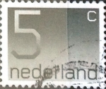 Stamps Netherlands -  Intercambio 0,20 usd 5 cent. 1976