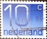 Sellos de Europa - Holanda -  Intercambio 0,20 usd 10 cent. 1976