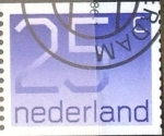Stamps : Europe : Netherlands :  25 cent. 1976