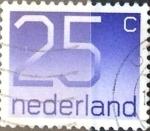 sellos de Europa - Holanda -  Intercambio 0,20 usd 25 cent. 1976