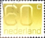 Stamps Netherlands -  Intercambio 0,20 usd 60 cent. 1981
