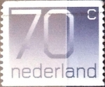 Stamps : Europe : Netherlands :  70 cent. 1991