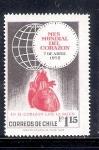 Sellos del Mundo : America : Chile : En el corazón late la salud