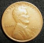 monedas de America - Estados Unidos -  1942 (Anverso)
