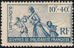 Stamps France -  Ceuvres de Solidarite Francaise