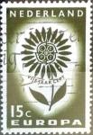 Sellos de Europa - Holanda -  Intercambio crxf 0,20 usd 15 cent. 1964