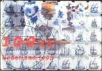 Stamps Netherlands -  Intercambio 0,30 usd 100 cent. 1998