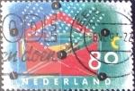 Sellos del Mundo : Europa : Holanda : Intercambio 0,25 usd 80 cent. 1993