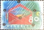 Sellos de Europa - Holanda -  Intercambio 0,25 usd 80 cent. 1993