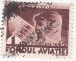 Sellos de Europa - Rumania -  aviador