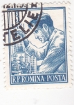 Sellos de Europa - Rumania -  químico