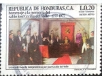 Stamps : America : Honduras :  Intercambio 0,20 usd 20 cent. 1978