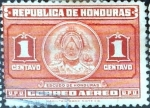 Sellos del Mundo : America : Honduras : Intercambio 0,20 usd 1 cent. 1946