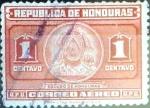 Sellos del Mundo : America : Honduras : Intercambio ma4xs 0,20 usd 1 cent. 1946