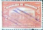 Sellos del Mundo : America : Honduras : Intercambio 0,20 usd 2 cent. 1939