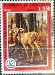 Stamps : America : Honduras :  Intercambio 0,30 usd 50 cent. 1976