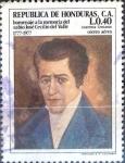 Sellos de America - Honduras -  Intercambio 0,40 usd 40 cent. 1978