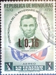 Sellos de America - Honduras -  Intercambio crxf2 0,20 usd 16 sobre 1 cent. 1975