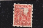 Stamps New Zealand -  casa típica
