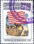 Sellos del Mundo : America : Honduras : Intercambio ma4xs 0,20 usd 1 cent. 1976
