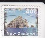 Stamps New Zealand -  paisaje-isla de BAY
