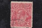 Sellos de Oceania - Australia -  rey George V