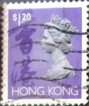 Sellos del Mundo : Asia : Hong_Kong : Intercambio 0,20 usd 1,2 dolares 1992